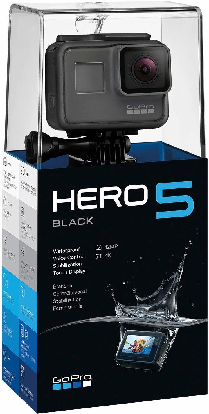 GoPro HERO5 Black 4K (Ultra-HD) Actioncam, GPS, WLAN, Bluetooth