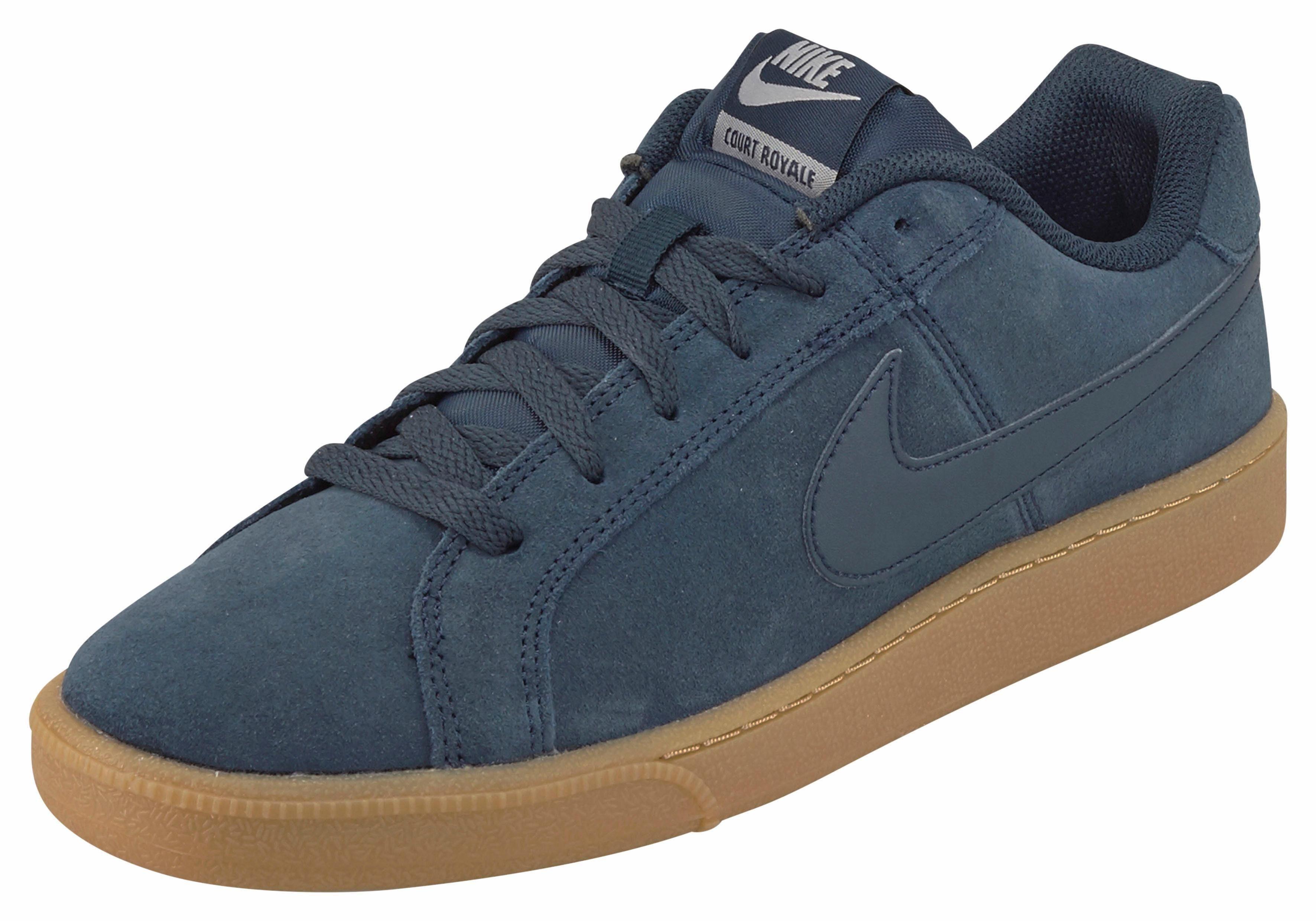 Nike Sportswear COURT ROYALE SUEDE Sneaker  navy