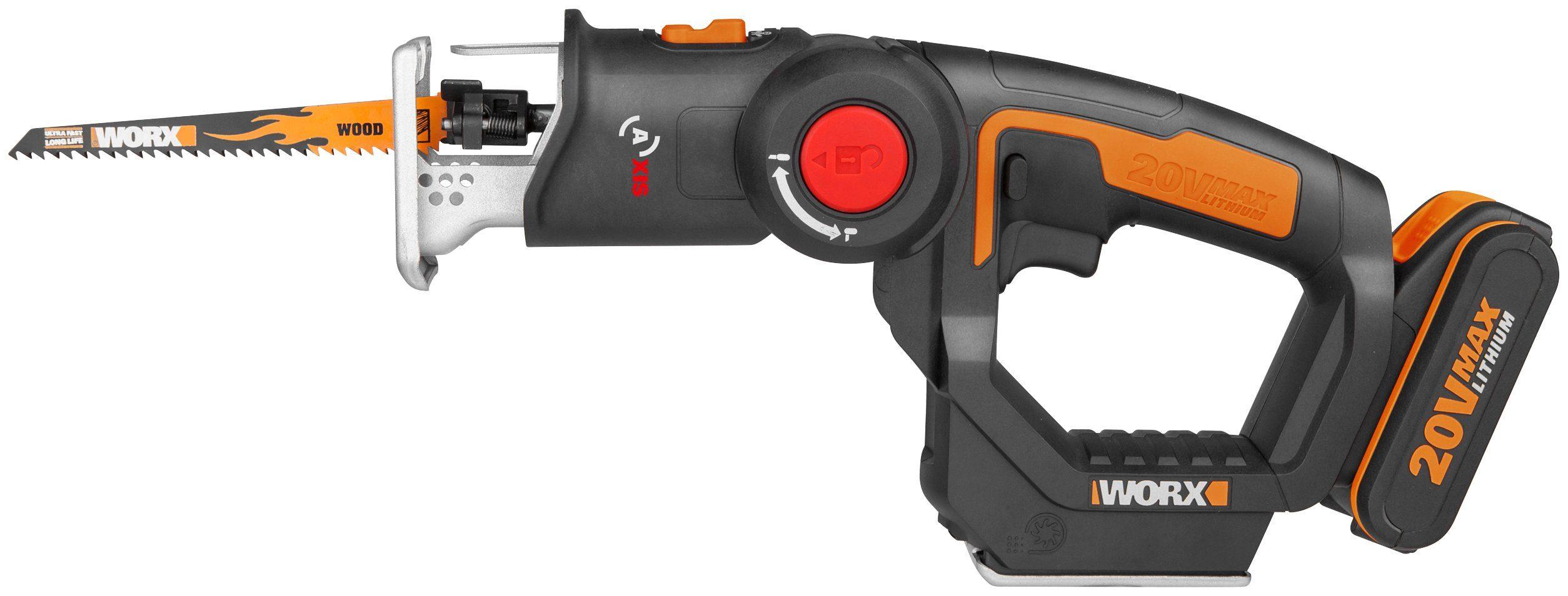WORX Akku-Multisäge »WX550 Trans4mer«