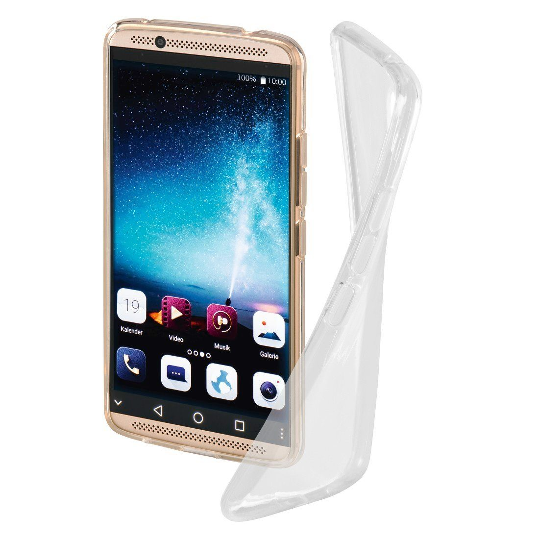 Hama Cover Crystal für ZTE Axon 7 mini, Transparent