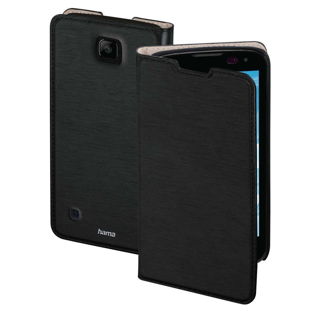 Hama Booklet Slim für LG K3 LTE, Schwarz