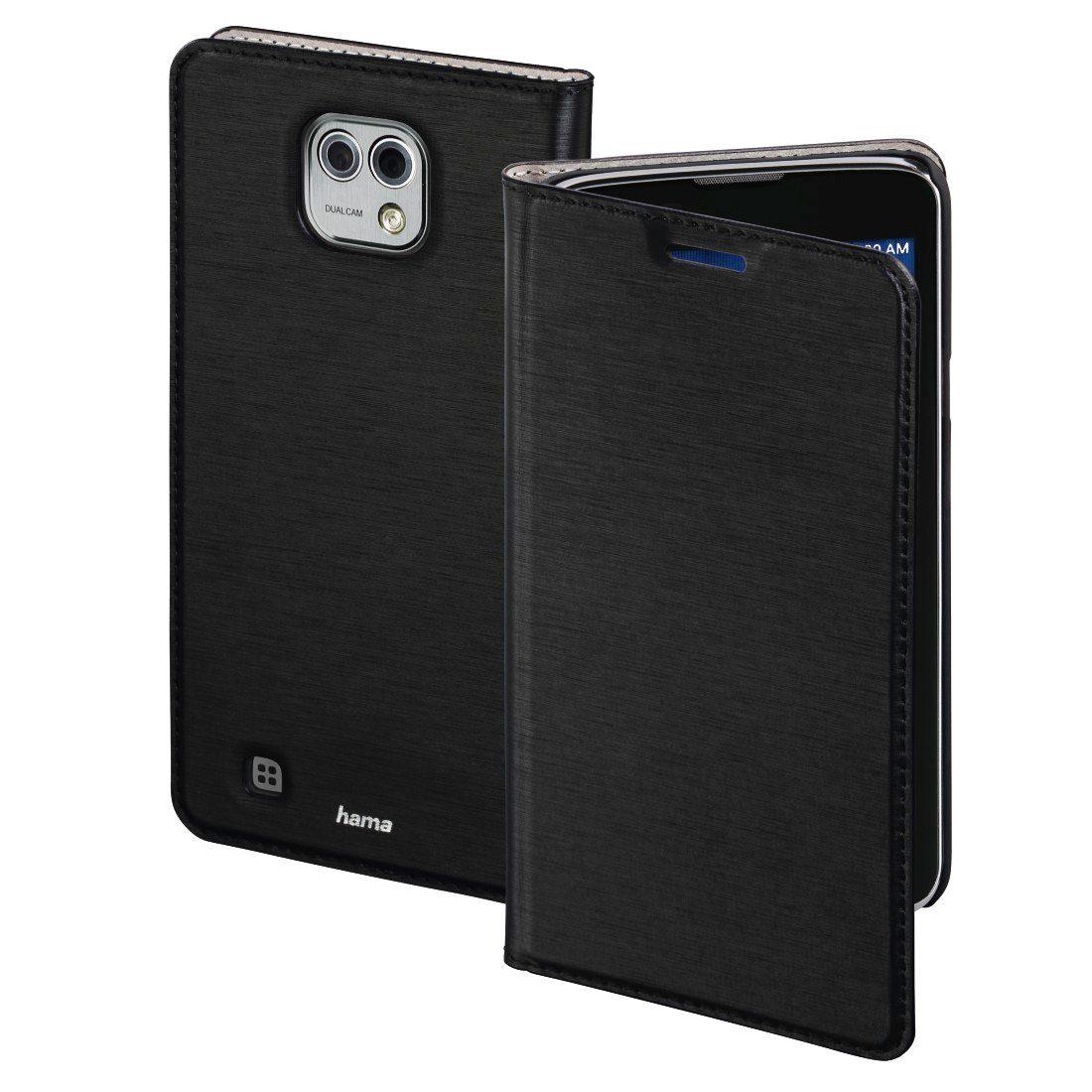 Hama Booklet Slim für LG X Cam, Schwarz