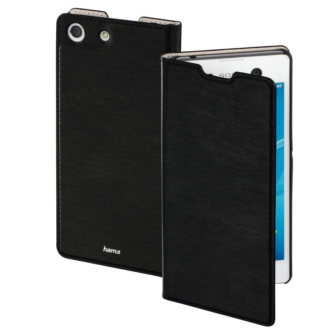 Hama Booklet Slim für Sony Xperia M5, Schwarz