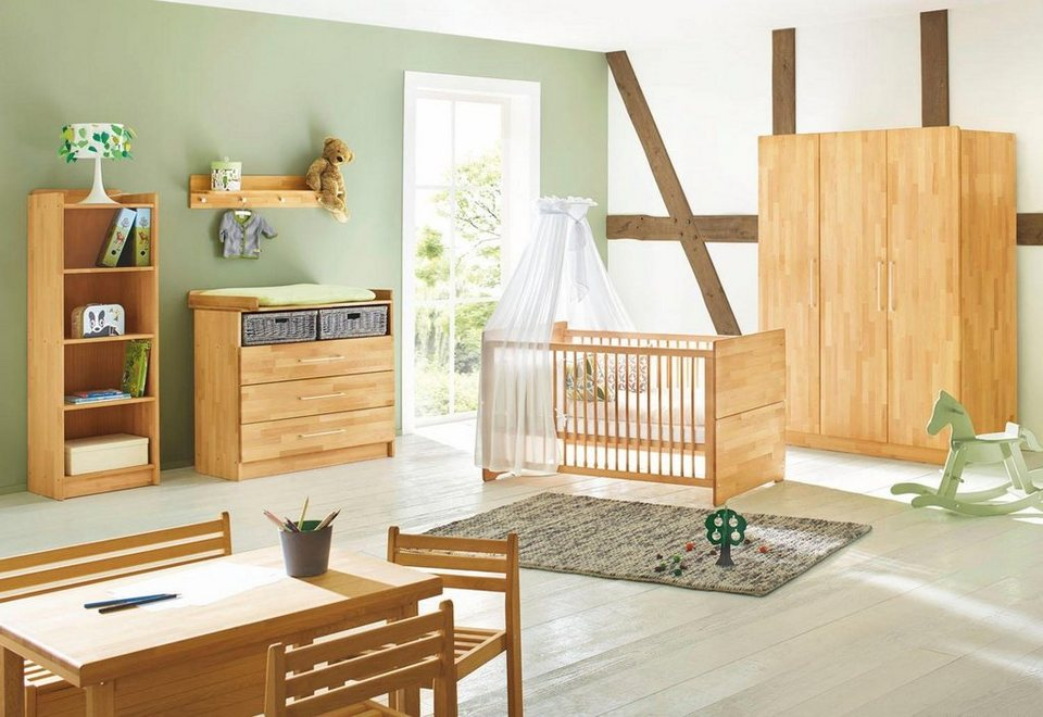 pinolino babyzimmer set natura breit gro 3 tlg online kaufen otto. Black Bedroom Furniture Sets. Home Design Ideas