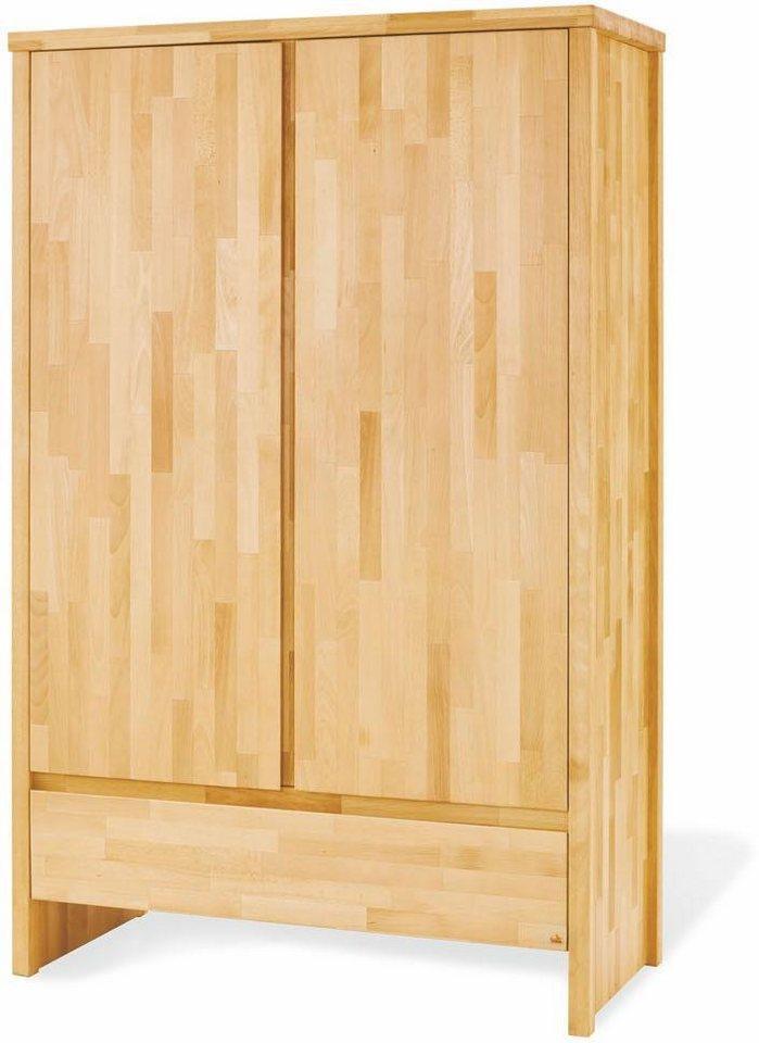 pinolino kleiderschrank fagus 2 t rig kaufen otto. Black Bedroom Furniture Sets. Home Design Ideas
