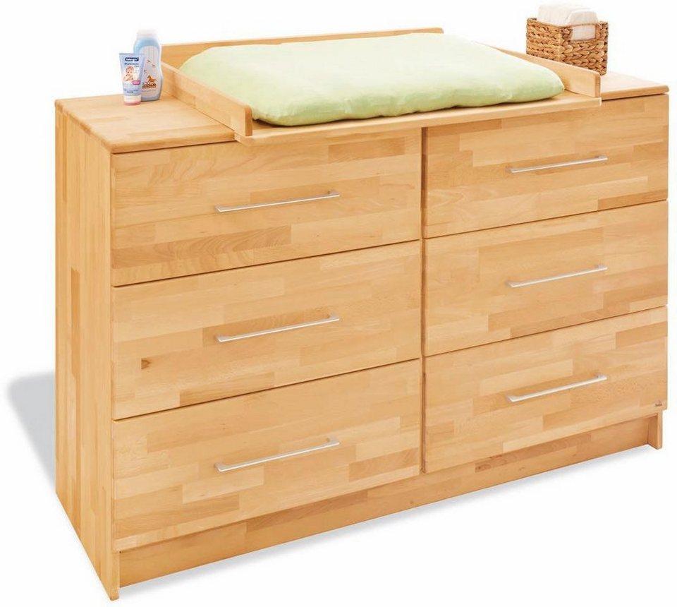 pinolino wickelkommode natura extrabreit kaufen otto. Black Bedroom Furniture Sets. Home Design Ideas