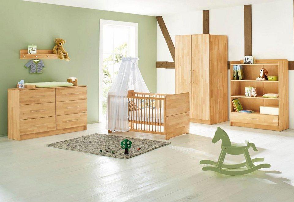 Babyzimmer set buche  Pinolino Babyzimmer Set »Natura« extrabreit (3-tlg.) online kaufen ...