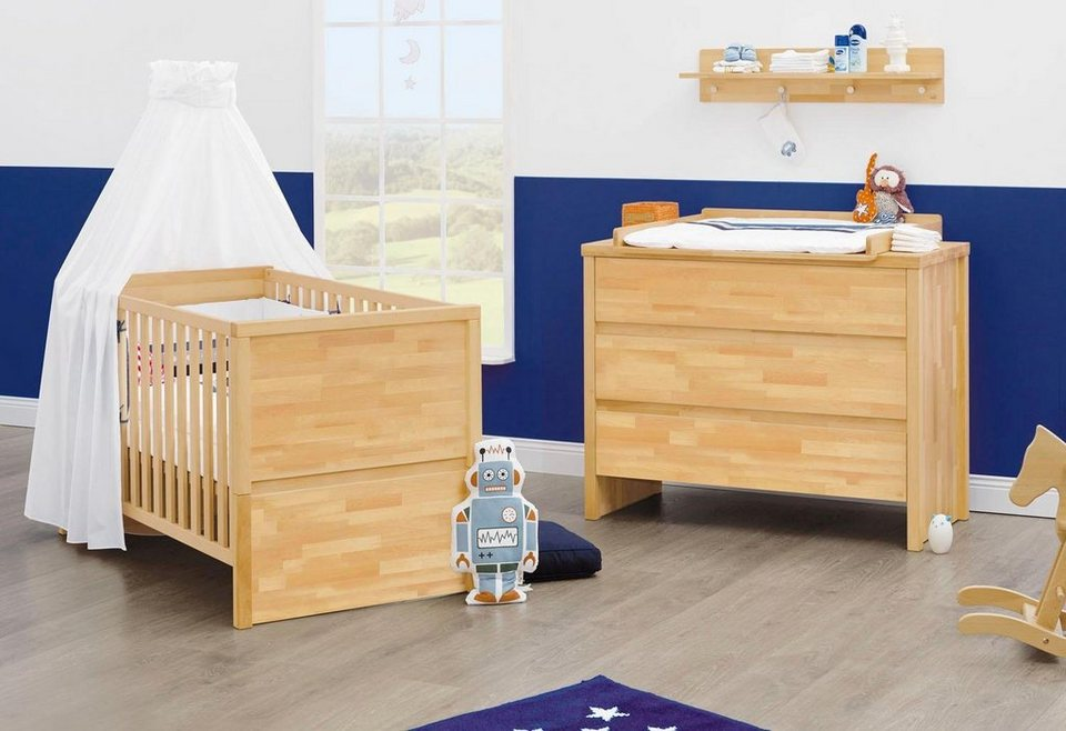 pinolino babyzimmer sparset fagus breit 2 tlg otto. Black Bedroom Furniture Sets. Home Design Ideas