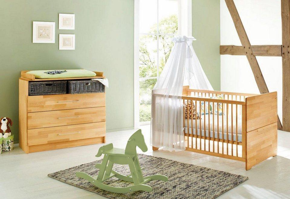 Babyzimmer set buche  Pinolino Babyzimmer Sparset »Natura« breit (2-tlg.) online kaufen | OTTO