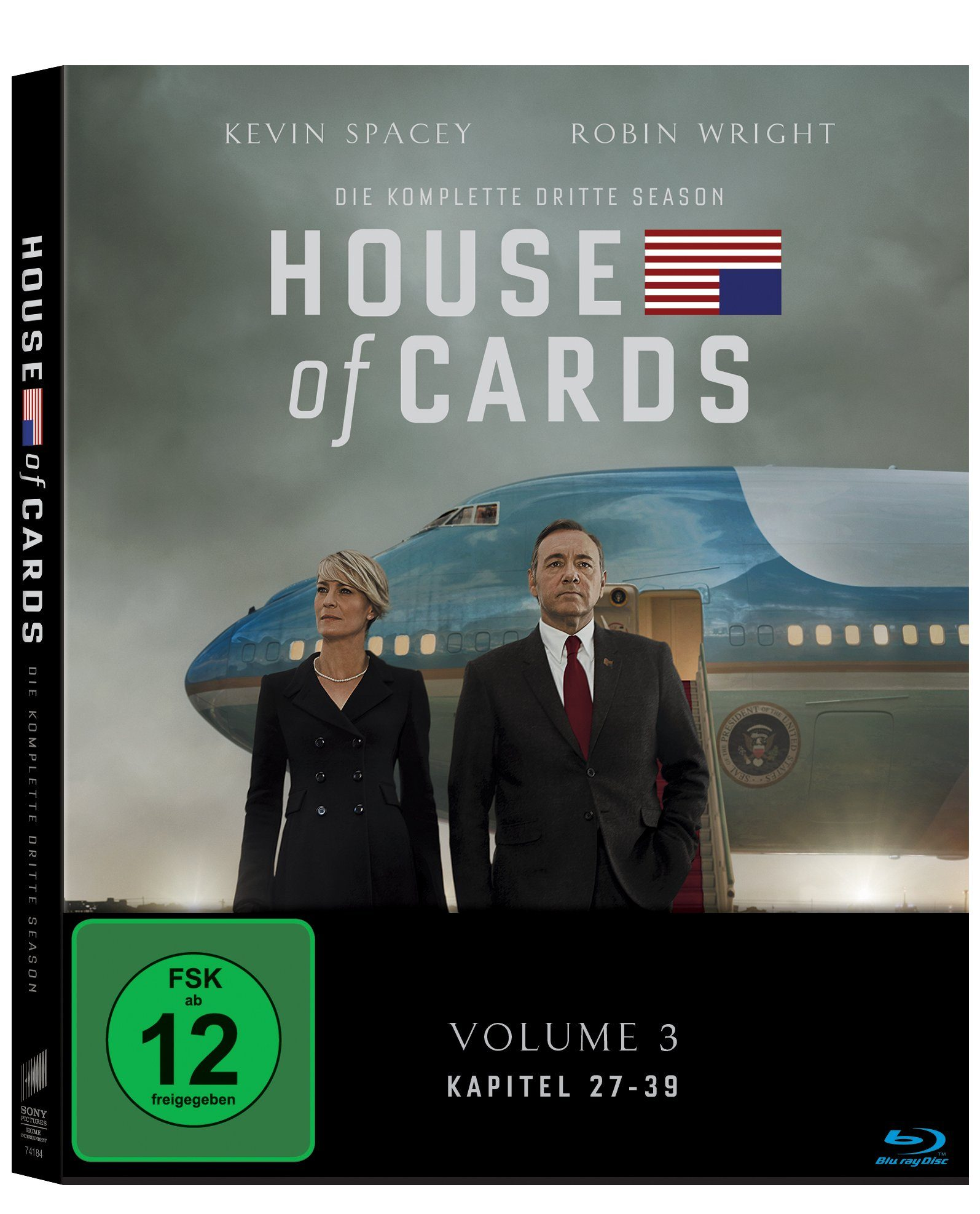 Sony Pictures Blu-ray »House of Cards Staffel 3«