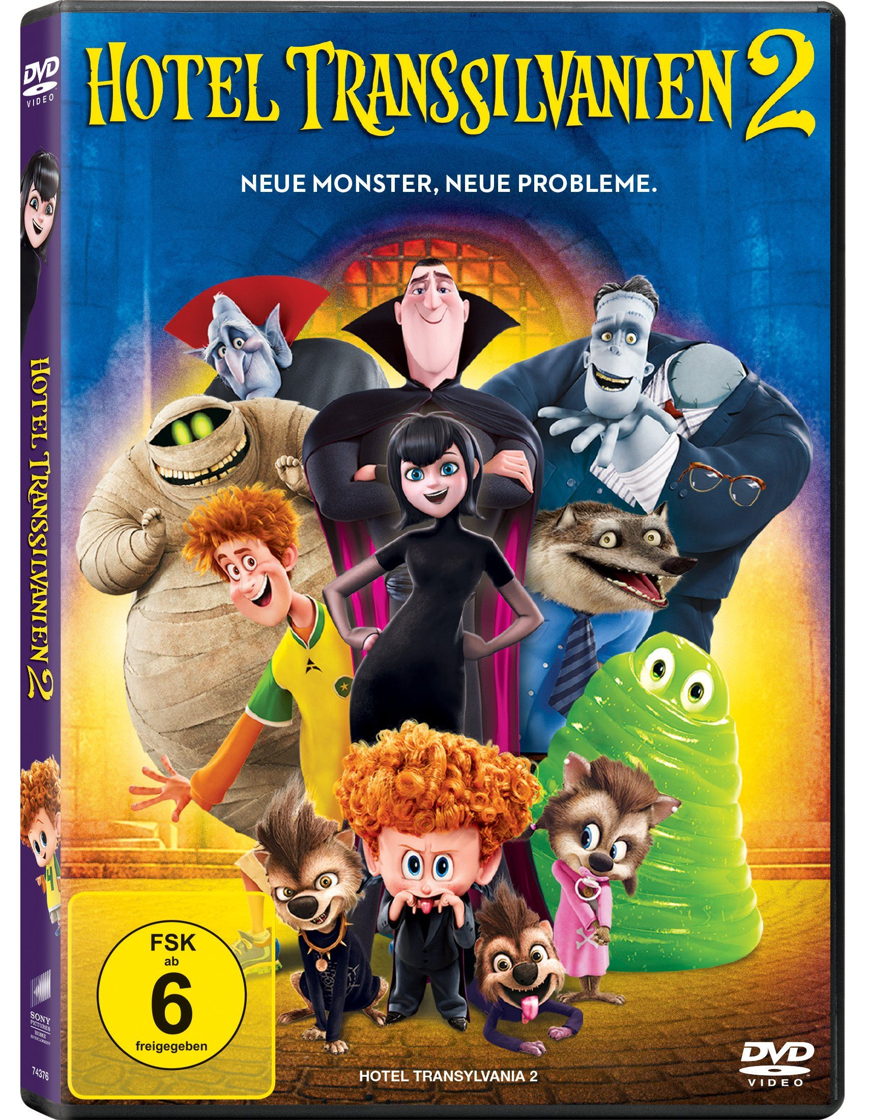 Sony Pictures DVD »Hotel Transsilvanien 2«