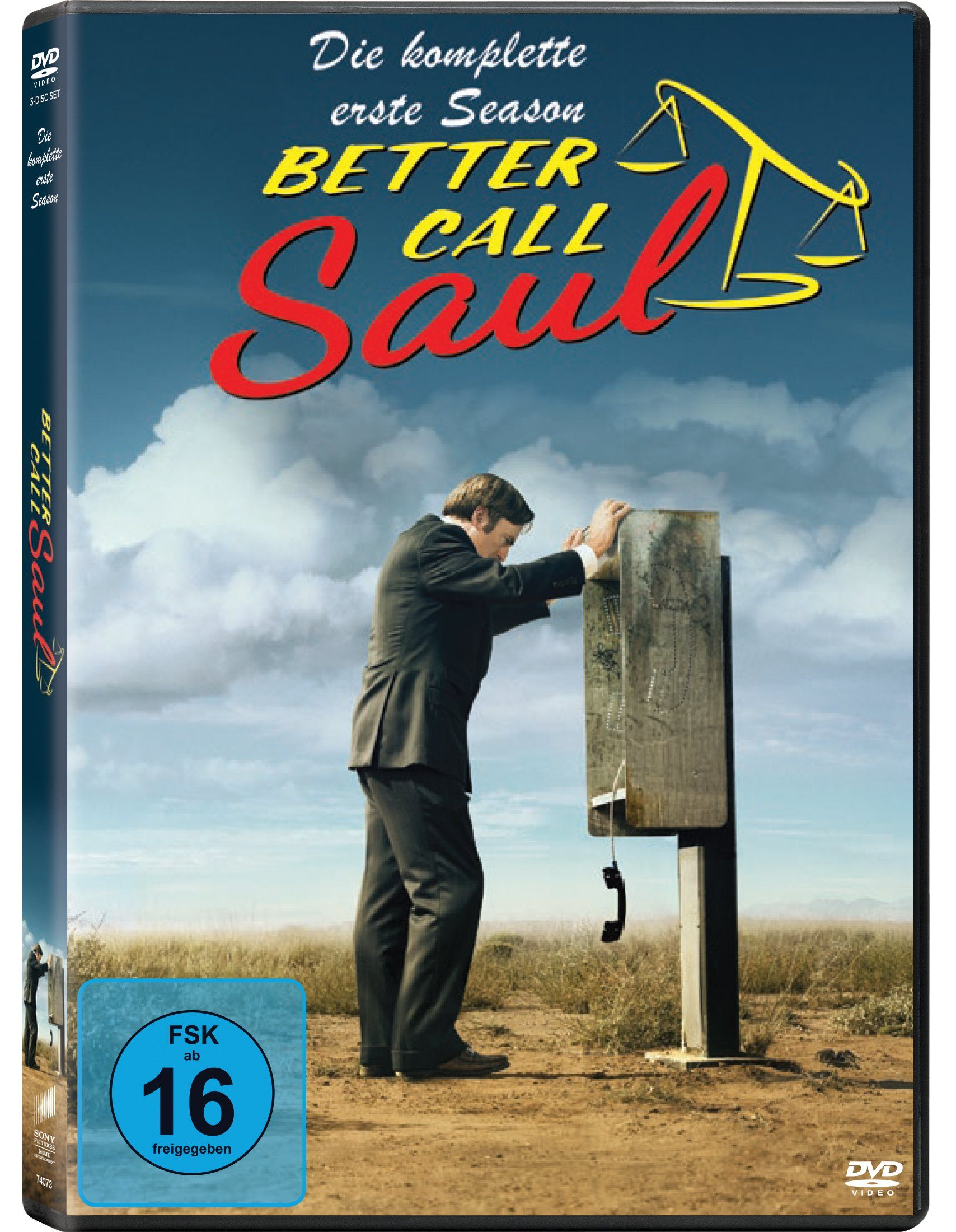 Sony Pictures DVD »Better Call Saul Staffel 1«