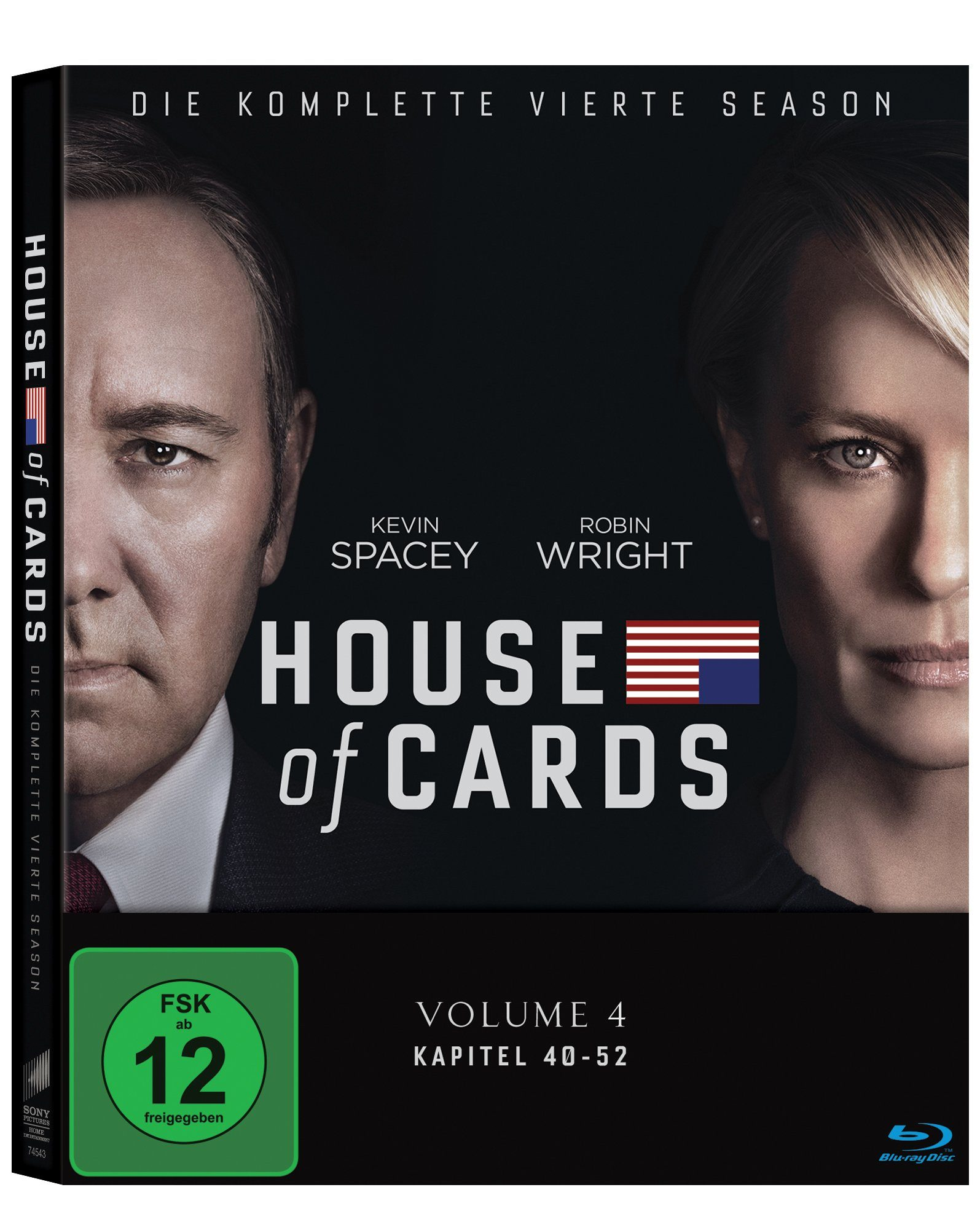 Sony Pictures Blu-ray »House of Cards Staffel 4«