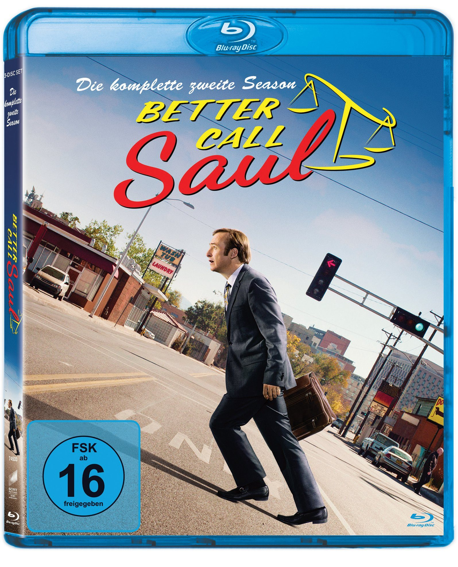 Sony Pictures Blu-ray »Better Call Saul Staffel 2«