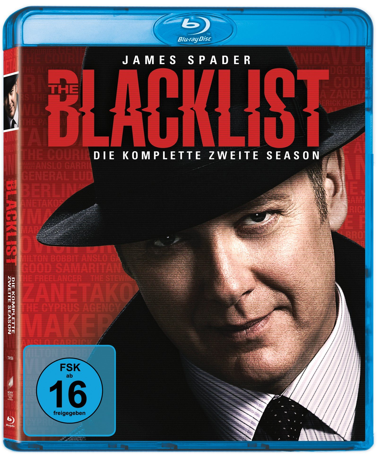 Sony Pictures Blu-ray »The Blacklist Staffel 2«