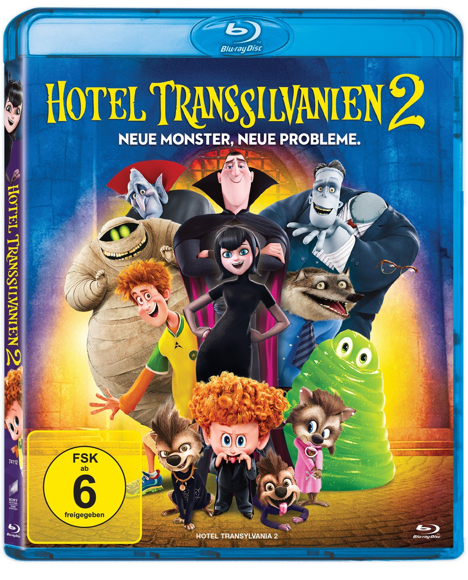 Sony Pictures Blu-ray »Hotel Transsilvanien 2«