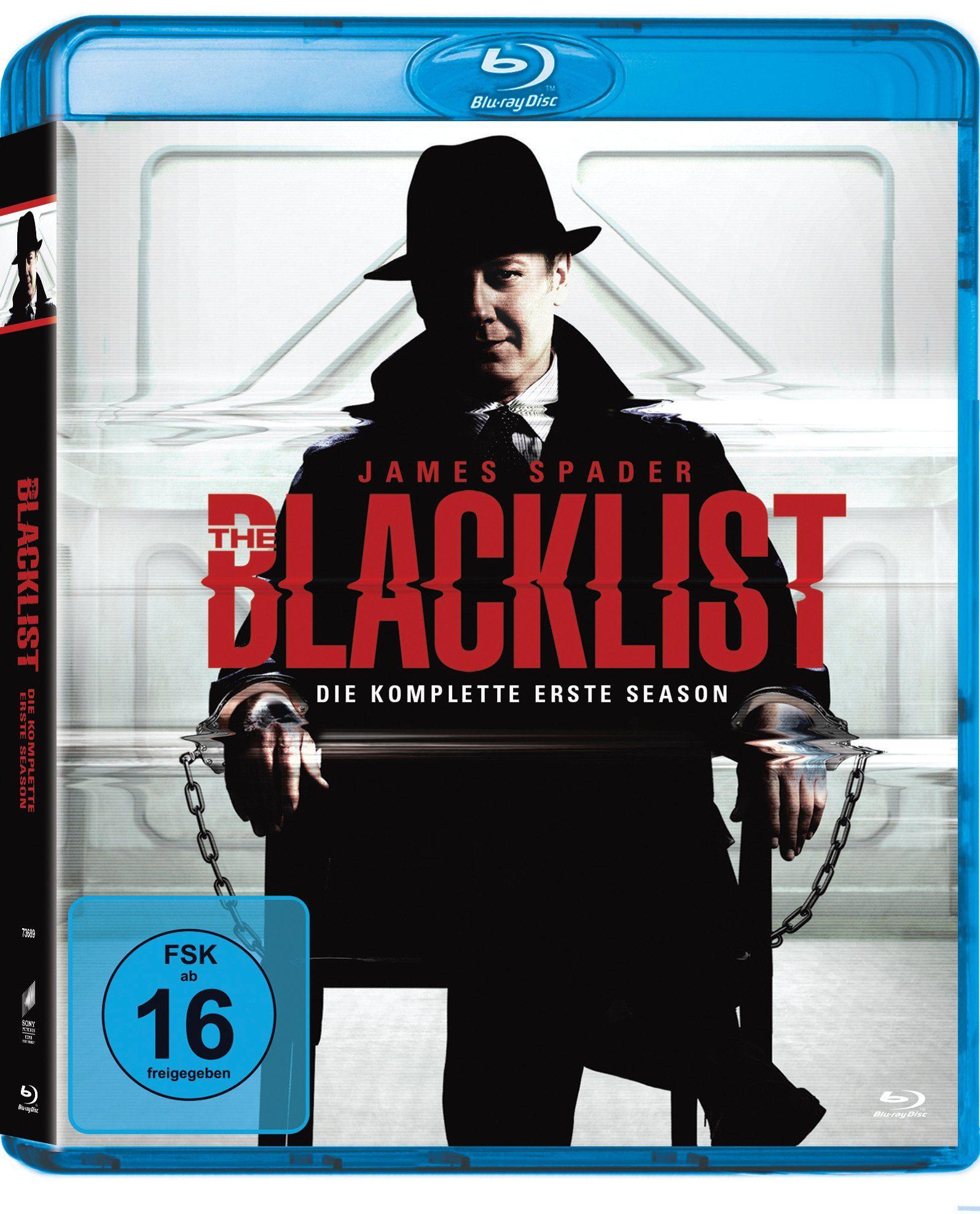 Sony Pictures Blu-ray »The Blacklist Staffel 1«