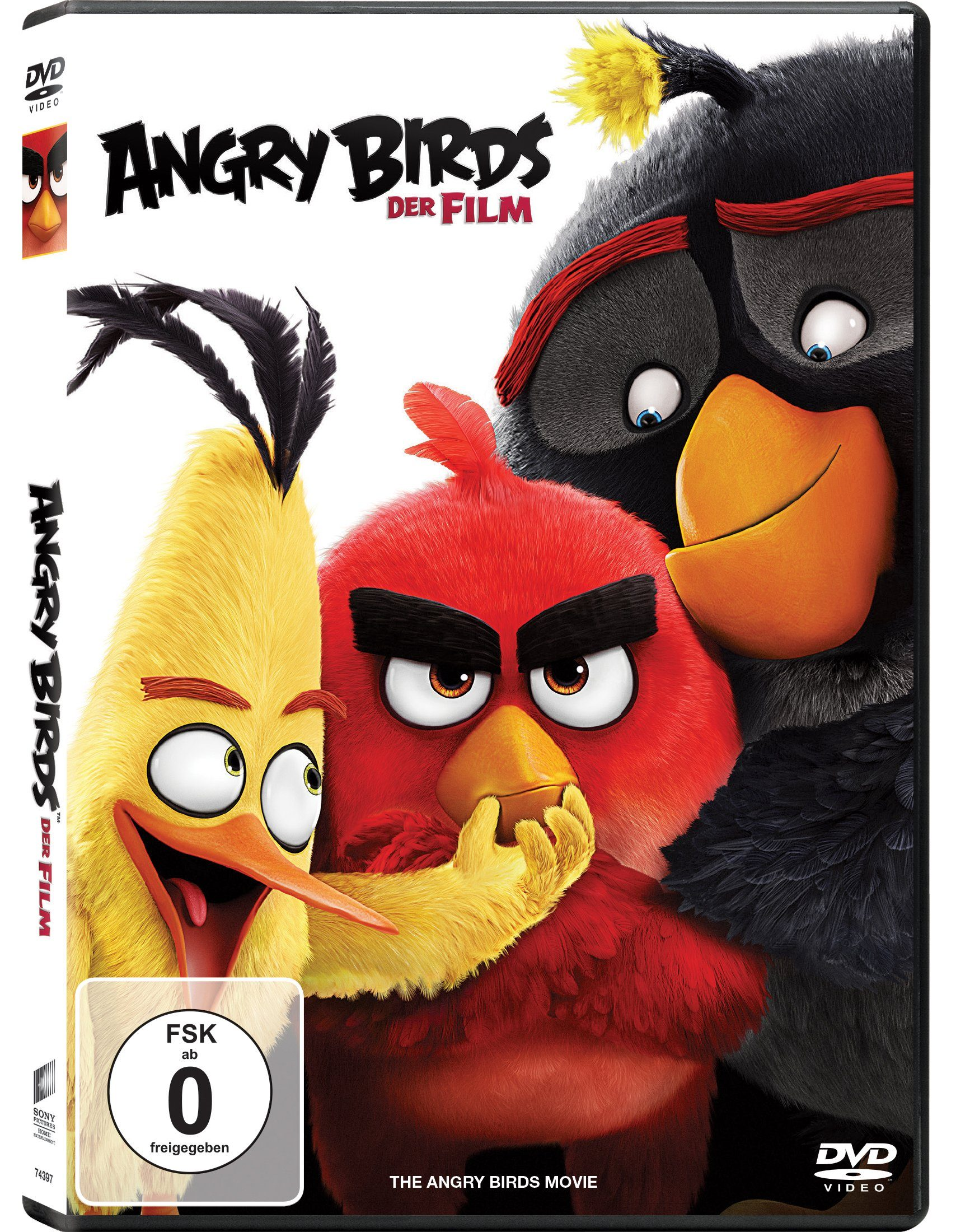 Sony Pictures DVD »Angry Birds - Der Film«