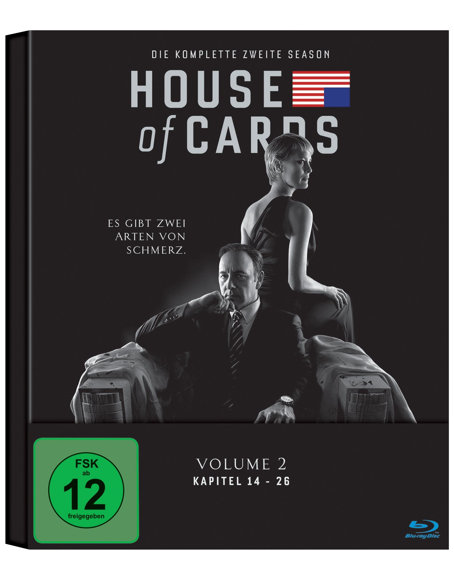 Sony Pictures DVD »House of Cards Staffel 2 Amaray ,0374706«