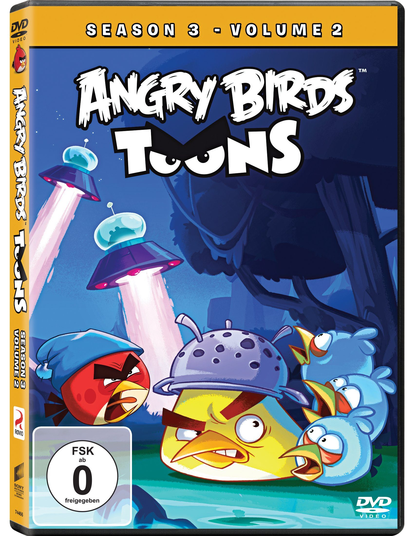 Sony Pictures DVD »Angry Birds Toons - Season 3 - Volume 2«