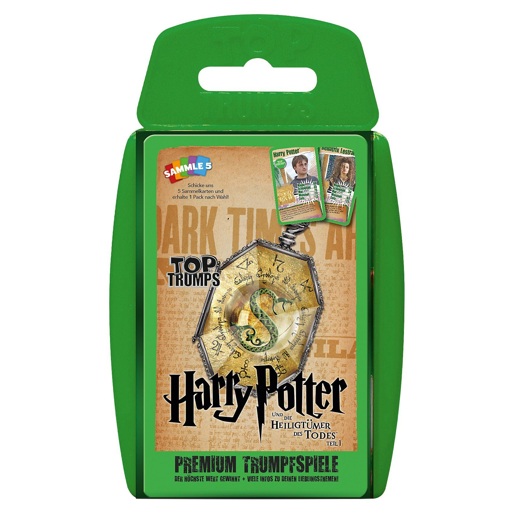 Winning Moves Top Trumps - Harry Potter und die Heiligtümer des Todes Teil