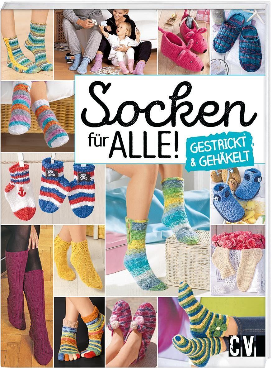 """Buch """"Socken für alle - gestrickt und gehäkelt"""" 144 Seiten"""