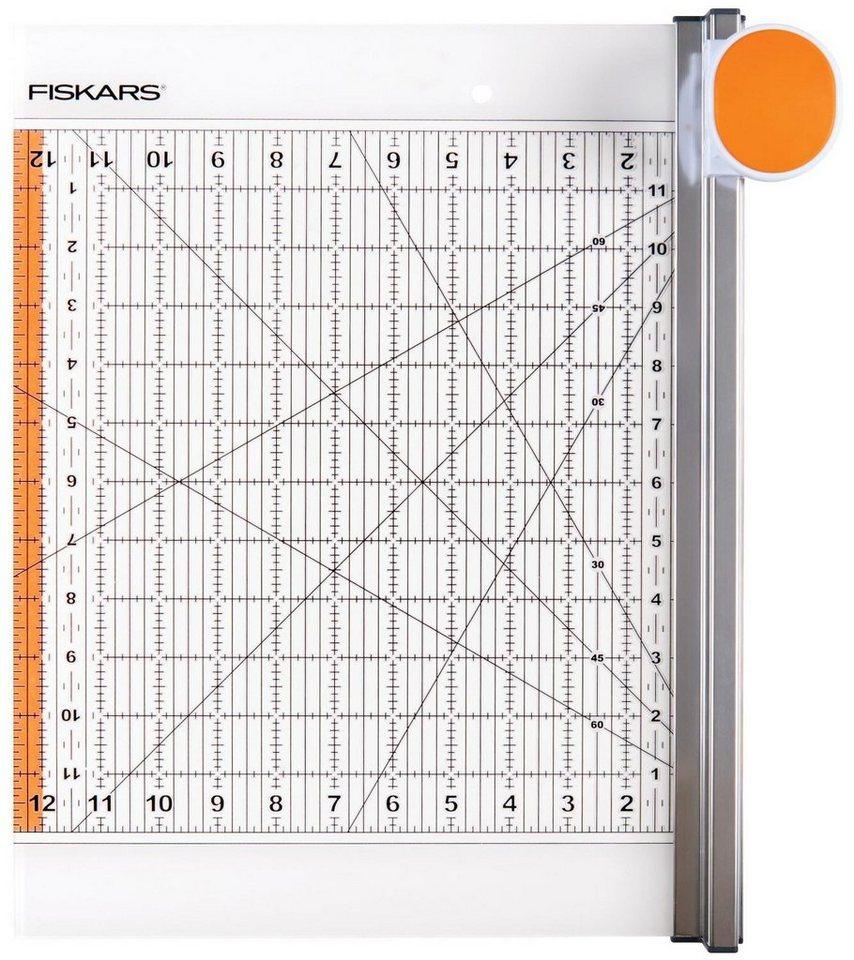 "Fiskars Rollmesser & Lineal ""2 in 1"" 30,5 x 30,5 cm online kaufen"