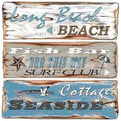 """Serviette """"Seaside"""""""