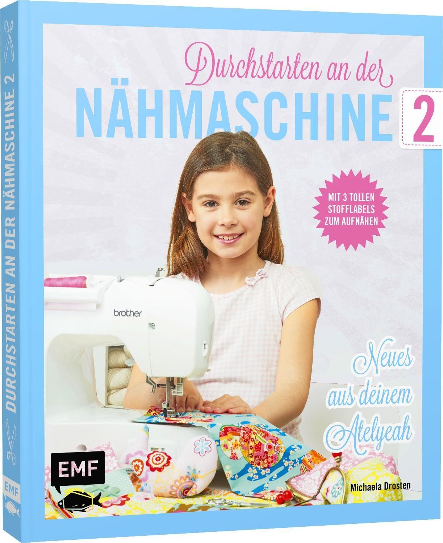 """EMF Buch """"Duchstarten an der Nähmaschine 2"""" 112 Seiten"""