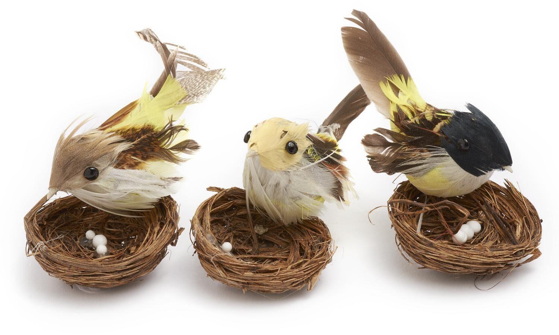 VBS Vögel im Nest, 3er-Set