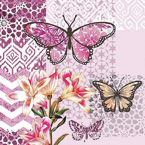 """Serviette """"Garden of Joy"""""""