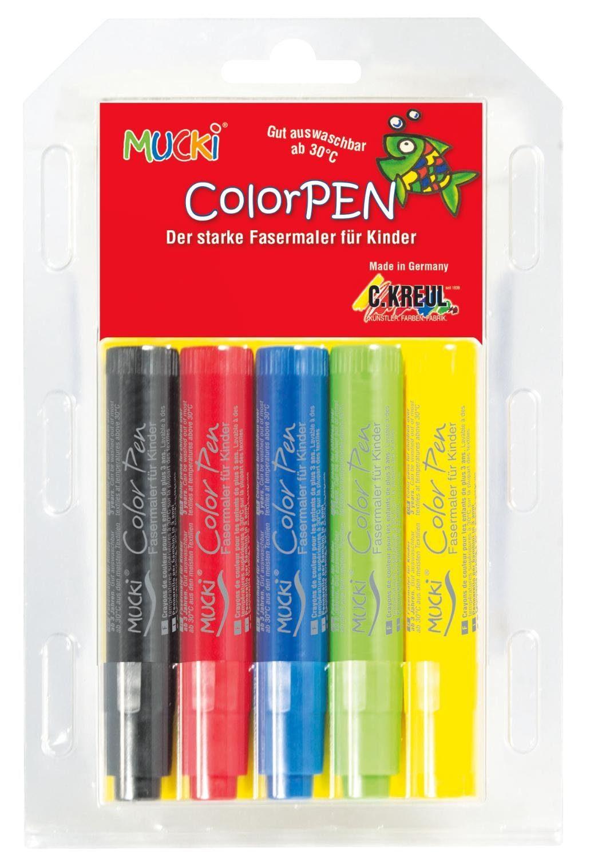 """Kreul Kreul Kinderstifte """"MUCKI Color Pen"""" 5 Stück"""
