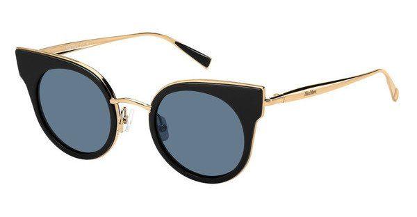Max Mara Damen Sonnenbrille » MM ILDE II«, schwarz, U2Q/9O - schwarz/grau