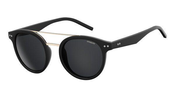 Polaroid Sonnenbrille » PLD 6031/S«, schwarz, 003/AI - schwarz/ rosa