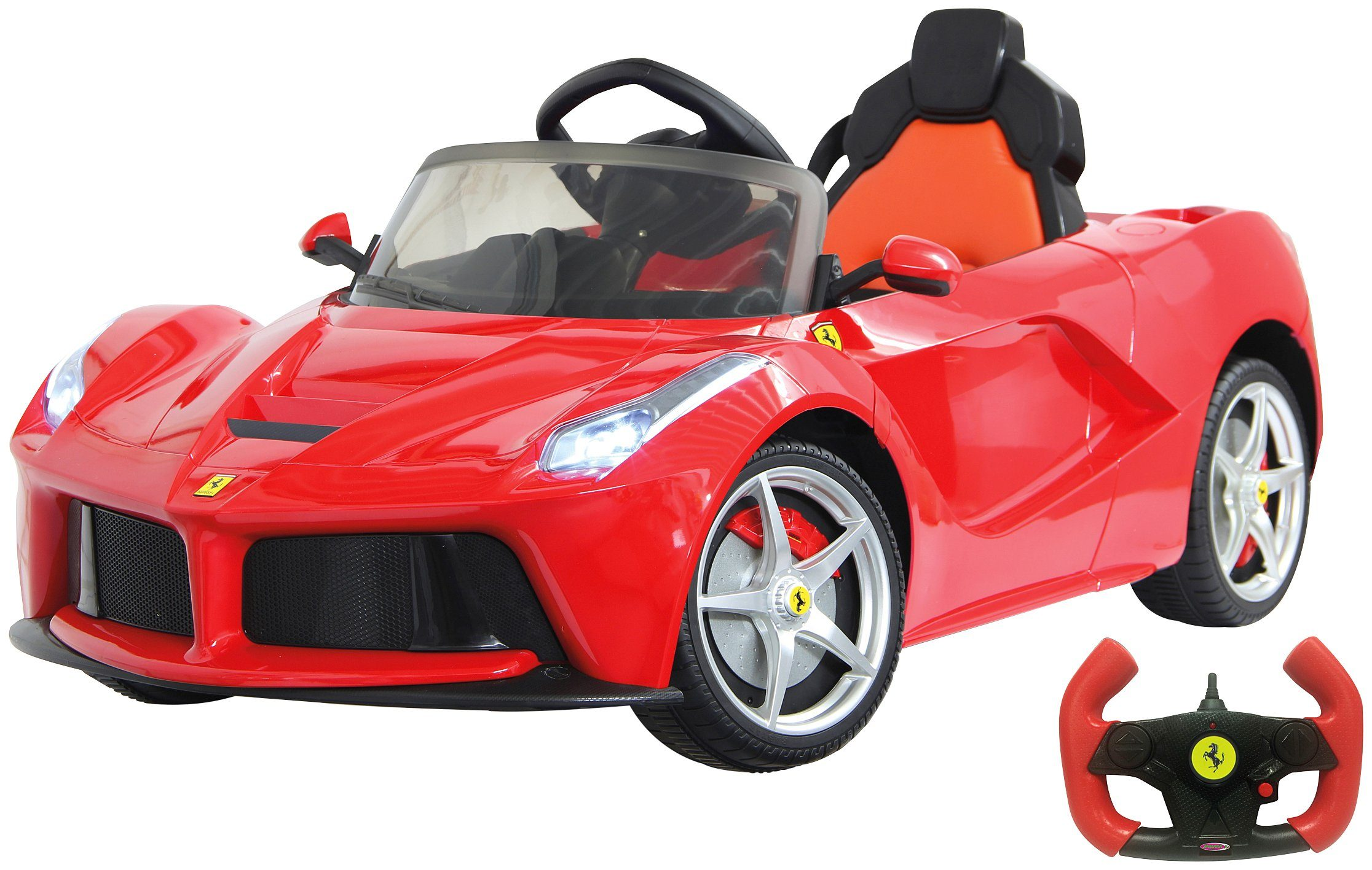 JAMARA KIDS Elektroauto »Ride-on Ferrari LaFerrari«, rot, inkl. Fernsteuerung