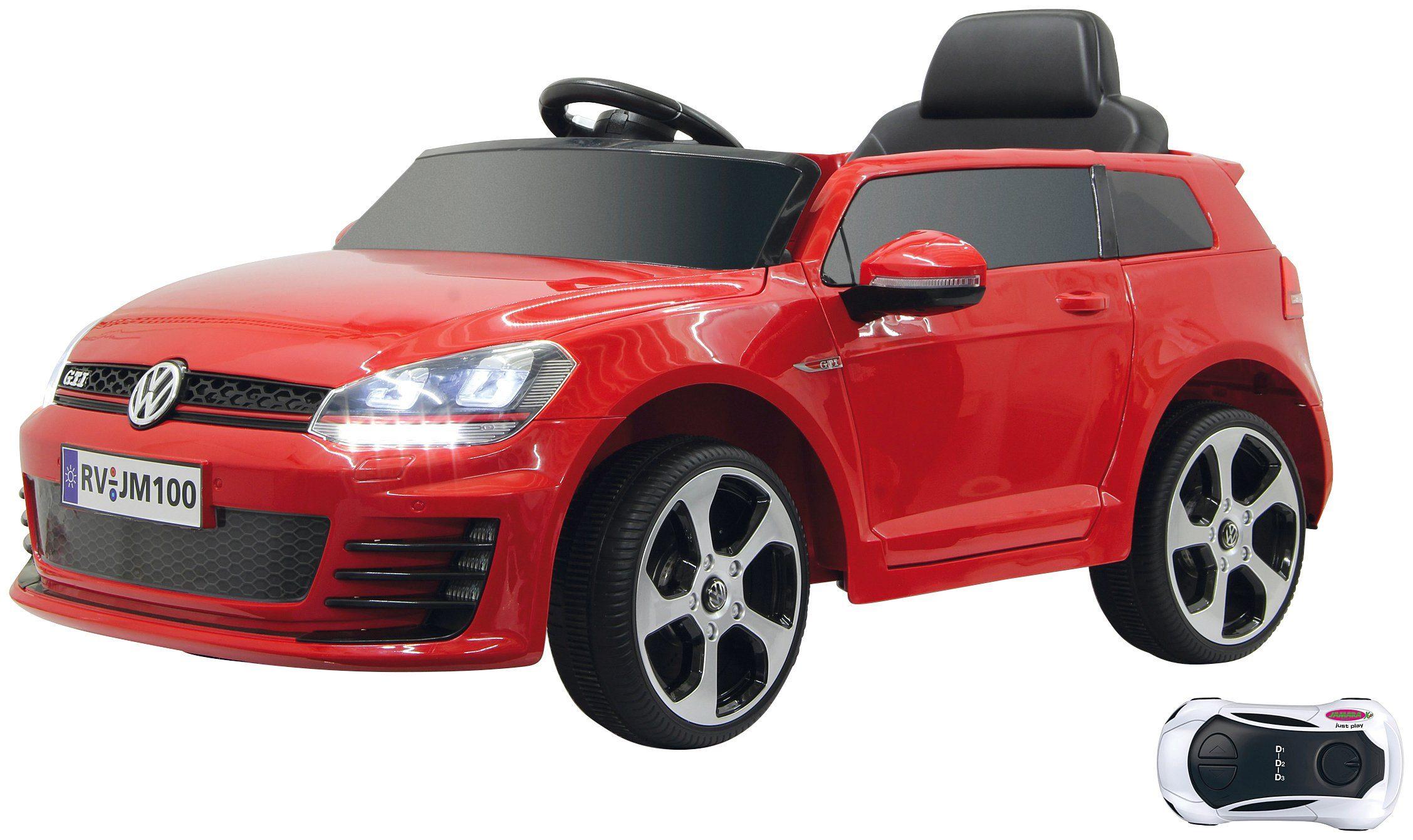 JAMARA KIDS Elektroauto »Ride-on VW Golf GTI VII«, rot, inkl. Fernsteuerung