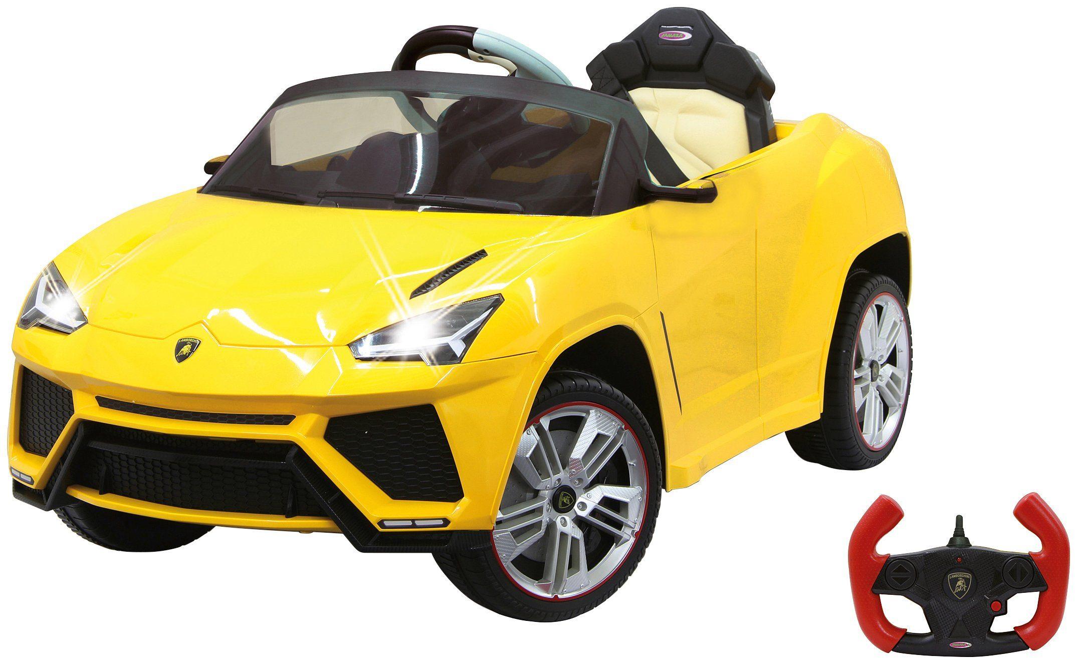 JAMARA KIDS Elektroauto »Ride-on Lamborghini Urus«, gelb, inkl. Fernsteuerung