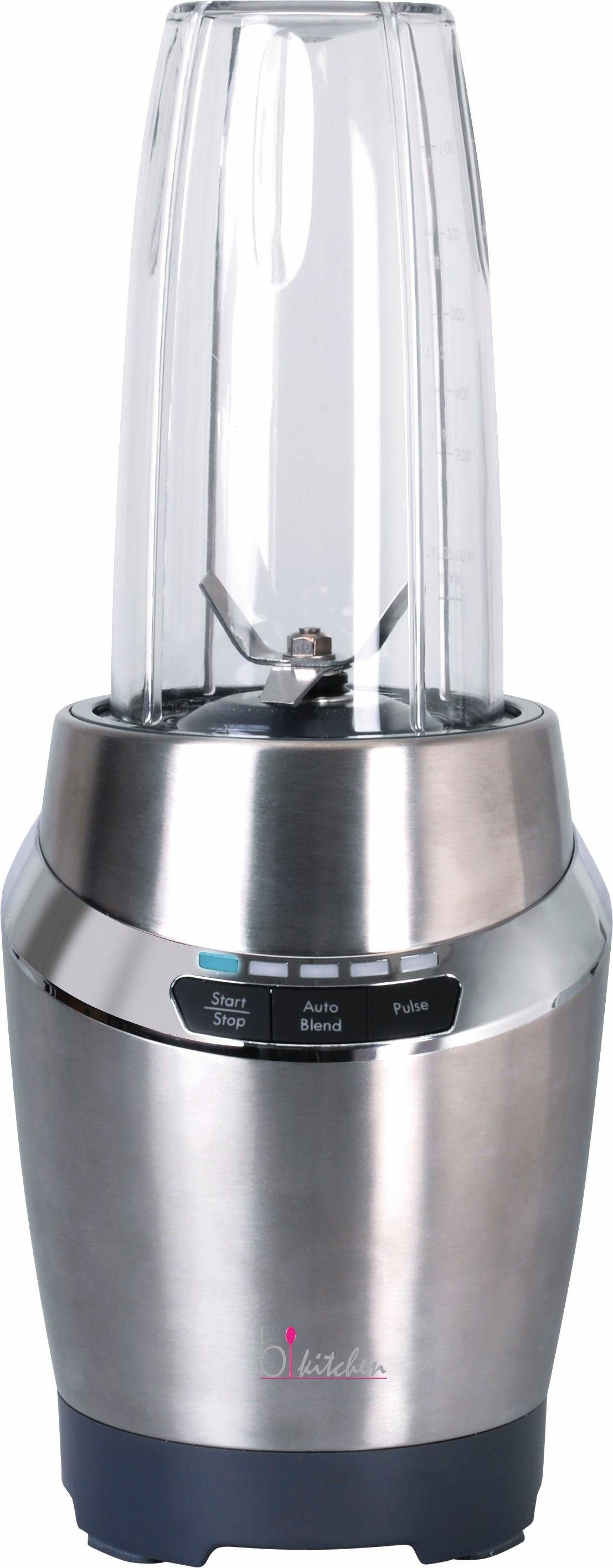 bkitchen Hochleistungs-Smoothie-Mixer smooth220, 900 Watt