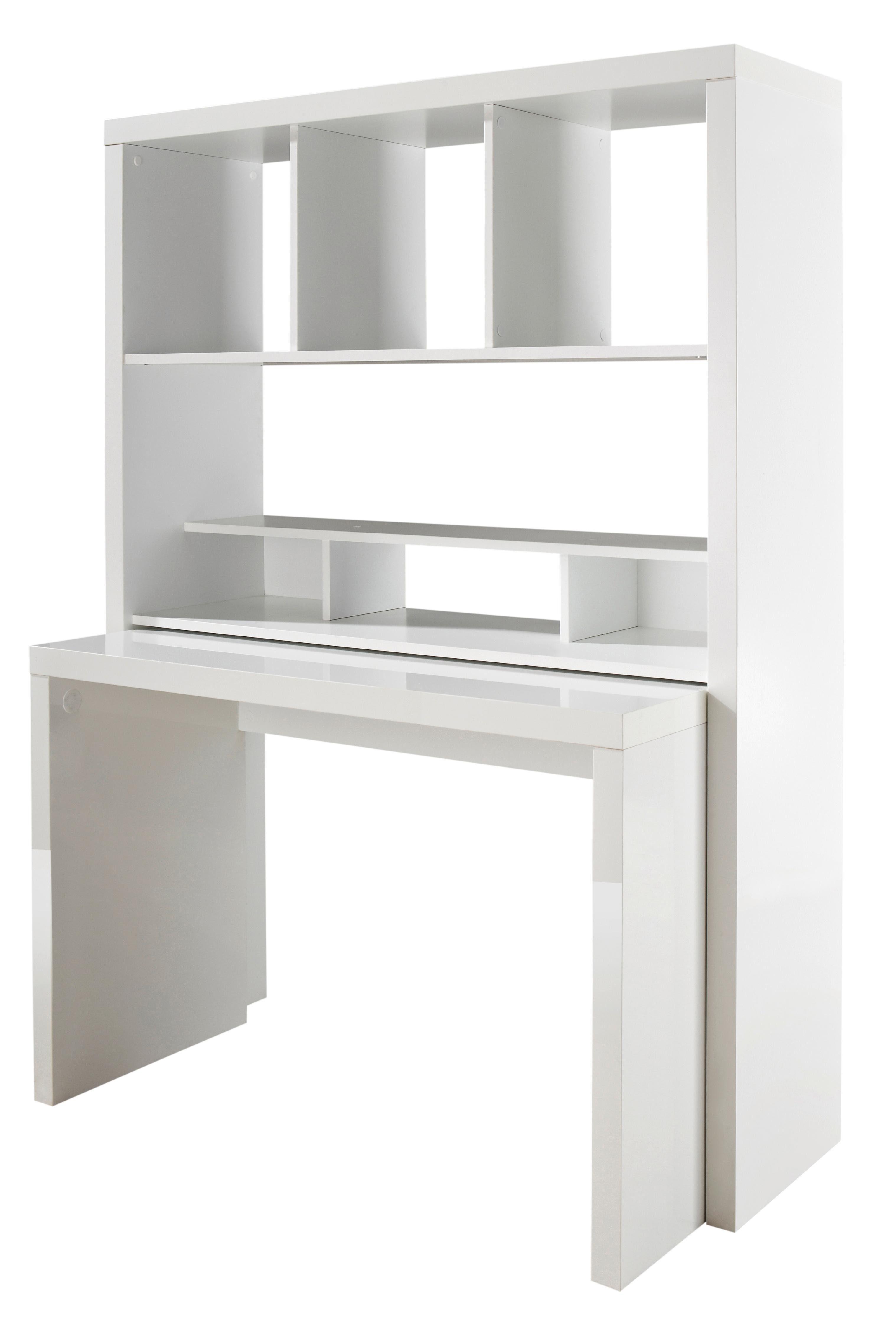 Bürowand, HMW, »Danzig«, mit ausziehbarem Schreibtisch