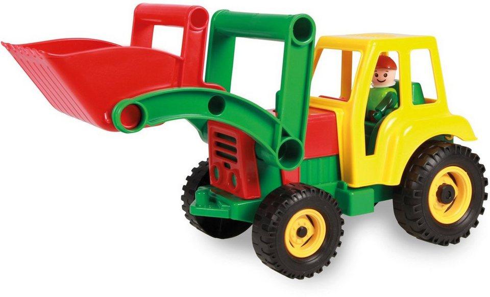 lena spielfahrzeug aktive traktor mit frontschaufel online kaufen otto. Black Bedroom Furniture Sets. Home Design Ideas