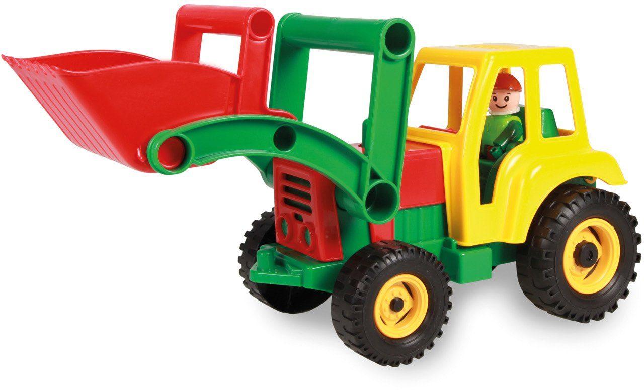LENA® Spielfahrzeug, »Aktive Traktor mit Frontschaufel«