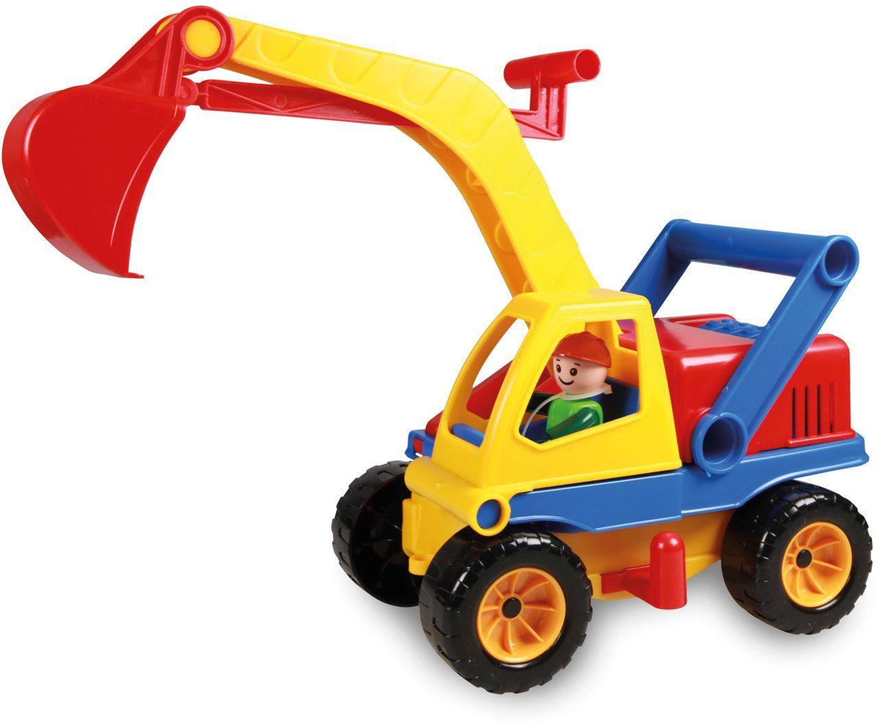 LENA® Spielfahrzeug, »Aktive Bagger«