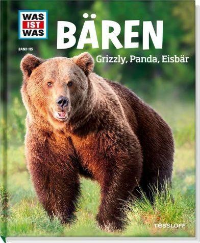 Gebundenes Buch »Bären. Grizzly, Panda, Eisbär / Was ist was...«