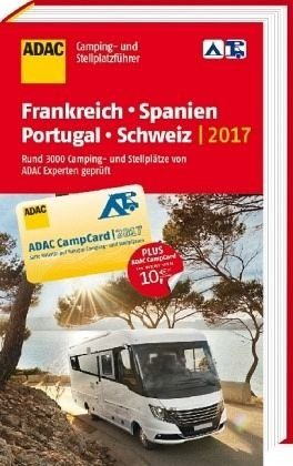 Broschiertes Buch »ADAC Camping- und Stellplatzführer 2017...«