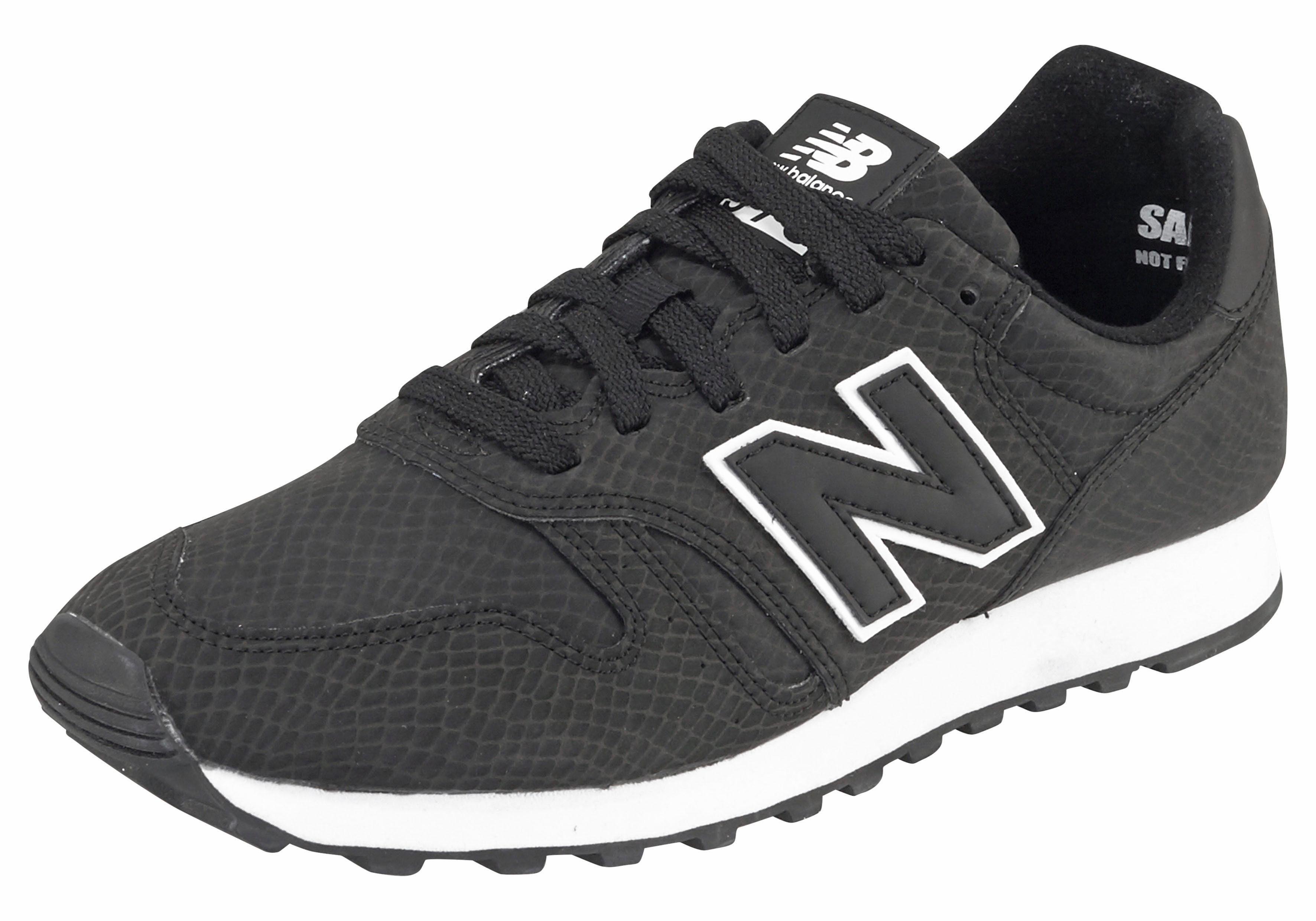 New Balance WL 373 Snake Sneaker online kaufen  schwarz-gemustert
