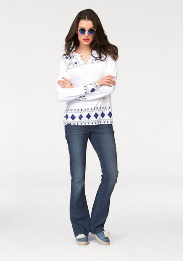 Aniston Tunikashirt, mit Frontdruck
