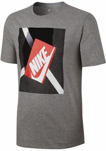 Nike Sportswear Rundhalsshirt Hommes Nsw Tee Shoebox Photo