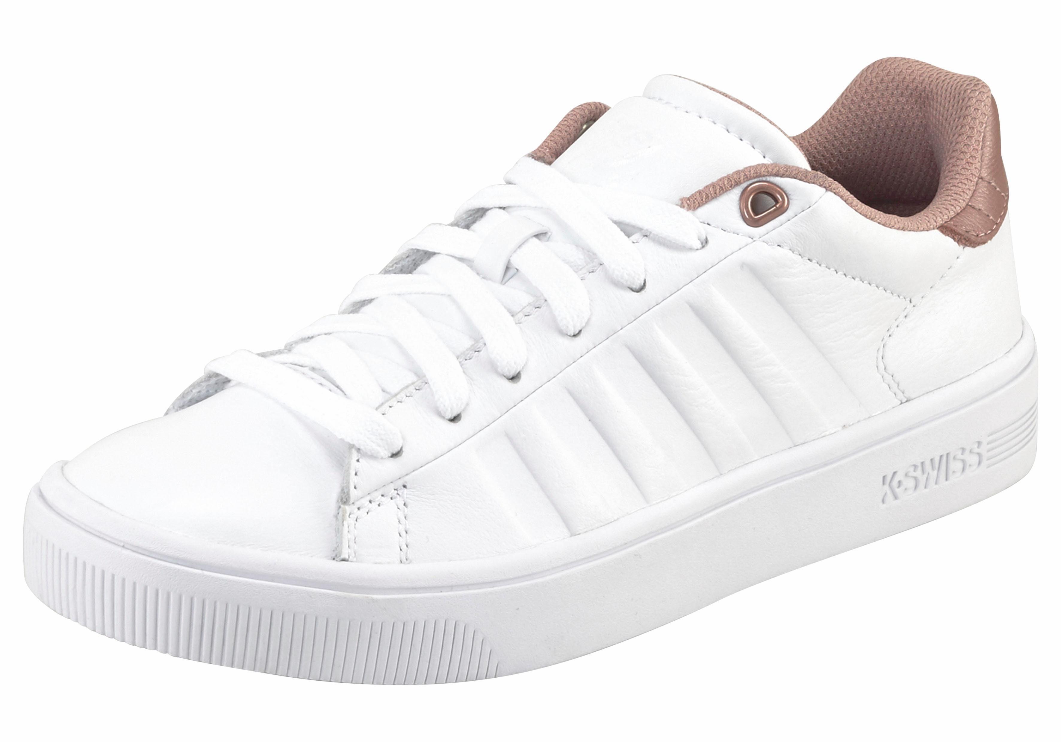 K-Swiss Court Frasco Sneaker online kaufen  weiß-rosé