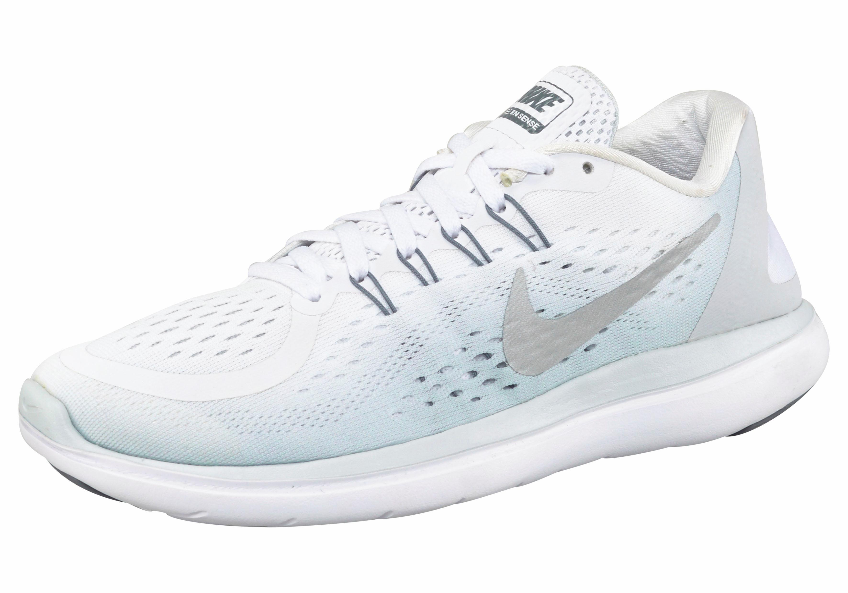 Nike Wmns Flex Run 2017 Laufschuh online kaufen  weiß-grau
