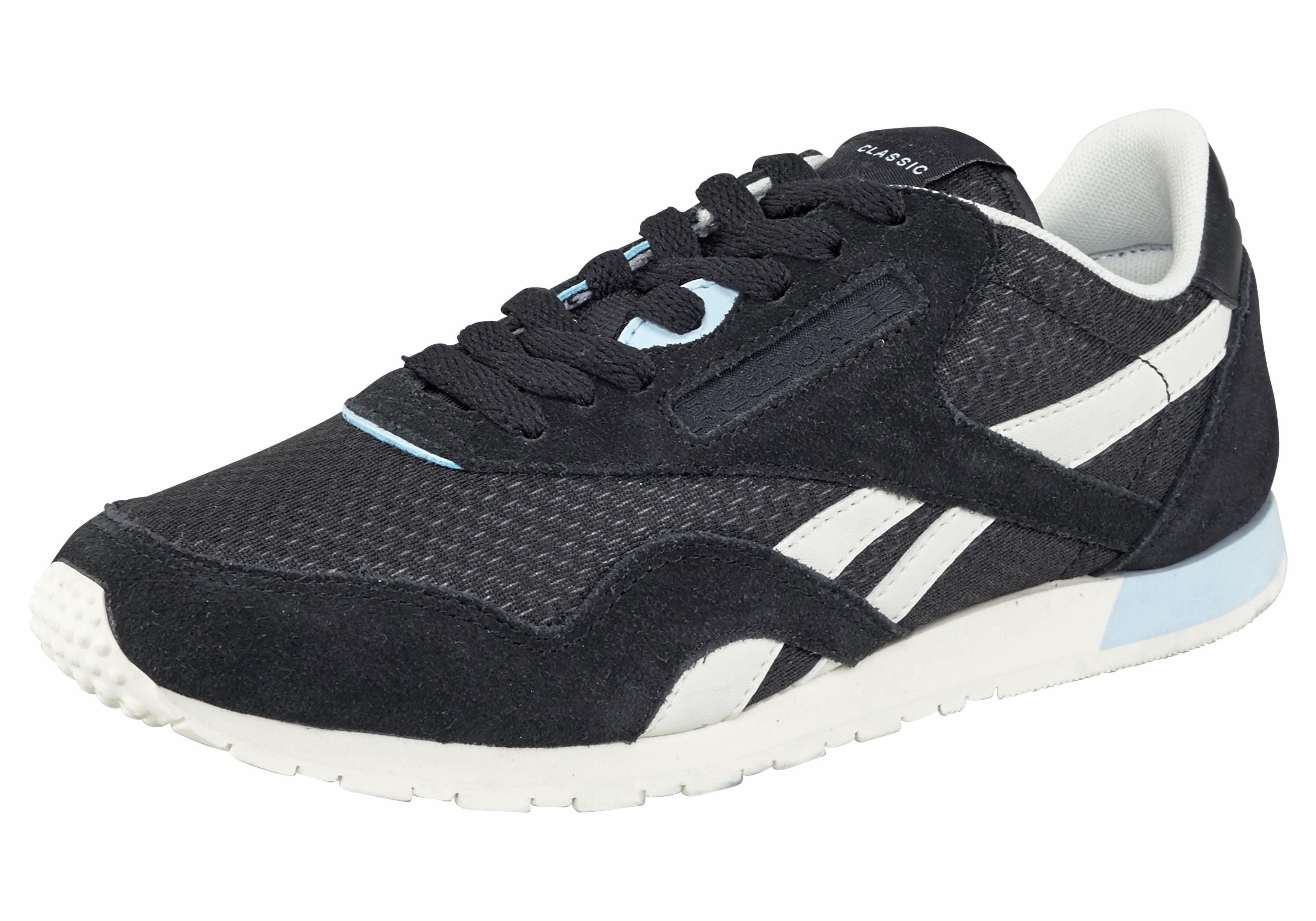 Reebok Classic Nylon Slim EP W Sneaker kaufen  schwarz-weiß-blau